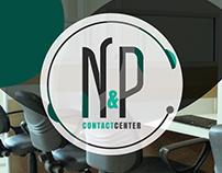N&P Contact Center. Diseño de identidad.