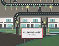 Villeneuve Loubet - Illustration