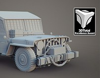 US ARMY JEEP - 3DTOTAL AWARD & INTERVIEW