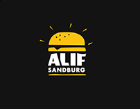 Alif Sandburg Brand Identity