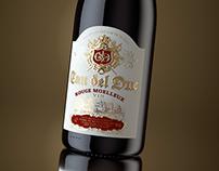 Packshot Wine CAU DEL DUC for Grand buro