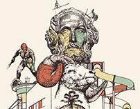 Press Illustration - La Toison d'Or (Golden Fleece)