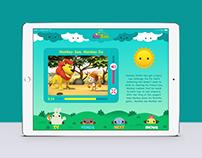 JimJam iPad app concept