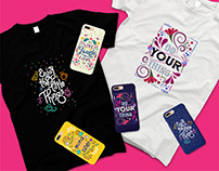 Words To Live By - Merchandise For Celfie Design