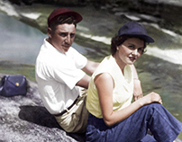 Charles and Alice Lawrence on a Warm Summer Day