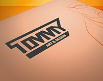 Tommy Art & Design Branding