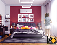 The Red Bedroom | Design