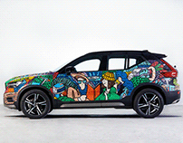 Volvo Art on Car