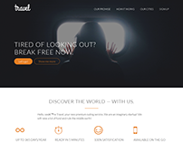 Travel Redefined | HTML5 Website Template