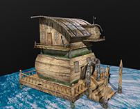 Maison pirate - 3D