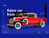 Retro car from CUBA.