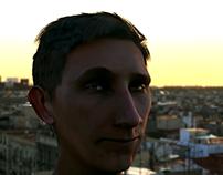 Self 3D portrait