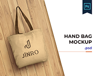Shopping Hand Bag PSD Mockup