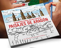 Illustrations for book 'Aragón landscapes'