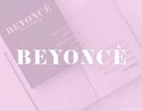 Beyonce Self-Titled Album Chapbook