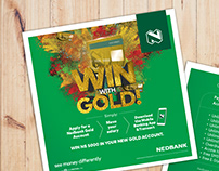 Nedbank Gold Account Flyer