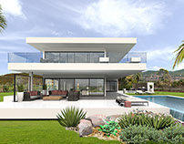Villa Canberra XL, Ibiza visualization