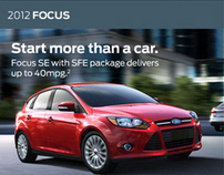 Ford Vehicles Mobile Site