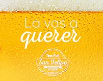 Campaña digital Cerveza San Felipe