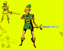 Fan Animation Link's Awakening