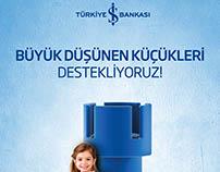 Türkiye İş Bankası Satranç Turnuvası / Afiş tasarımı