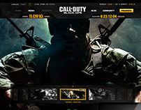 "Call Of Duty ""Black Ops"" Official Website (2012)"