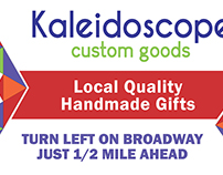 Kaleidoscope Custom Goods Billboard