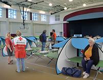 Disaster Shelter Divider Module