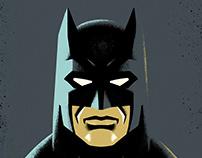 Batman Character Studies
