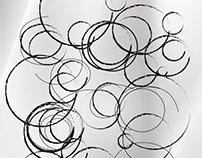 Circulos blanco y negro