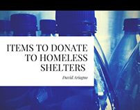 Items To Donate To Homeless Shelters