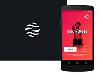 Boundless App - Startup