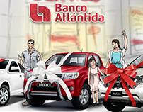 Storyboard Comercial Promoción tarjetas Banco Atlántida