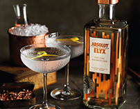 Absolut Elyx Drinking Vessels