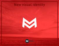 New visual identity Mladen Majdevac