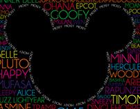Disney Word Cloud