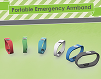 Portable Emergency Armband