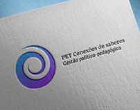Re-design da marca do PET Conexões de saberes da UFPE.