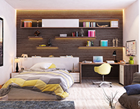 Contemporary Boy Bedroom