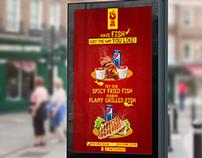 Fish Chick fast food restaurant social media