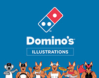 Domino's – Illustrations