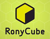 RonyCube Logo + Iconography