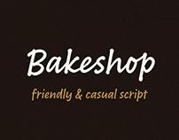 Bakeshop typeface
