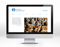 Carolina Conversations Website Design