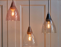 Soft pendant lamp - Halo Design