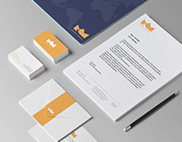 Crown Travel corporate branding design