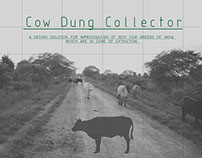 Cow dung Collector