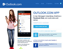 Outlook App Website