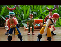 Peter Pan · O espetáculo · Stop Motion