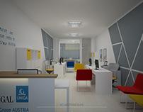 Interior Design, Sigal Uniqa Group Office, Shkoder